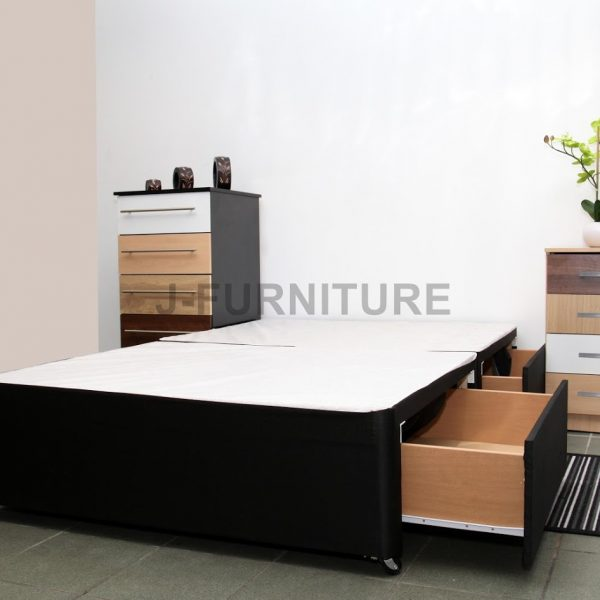 Small Double 4ft Divan Bed Base J Furniture